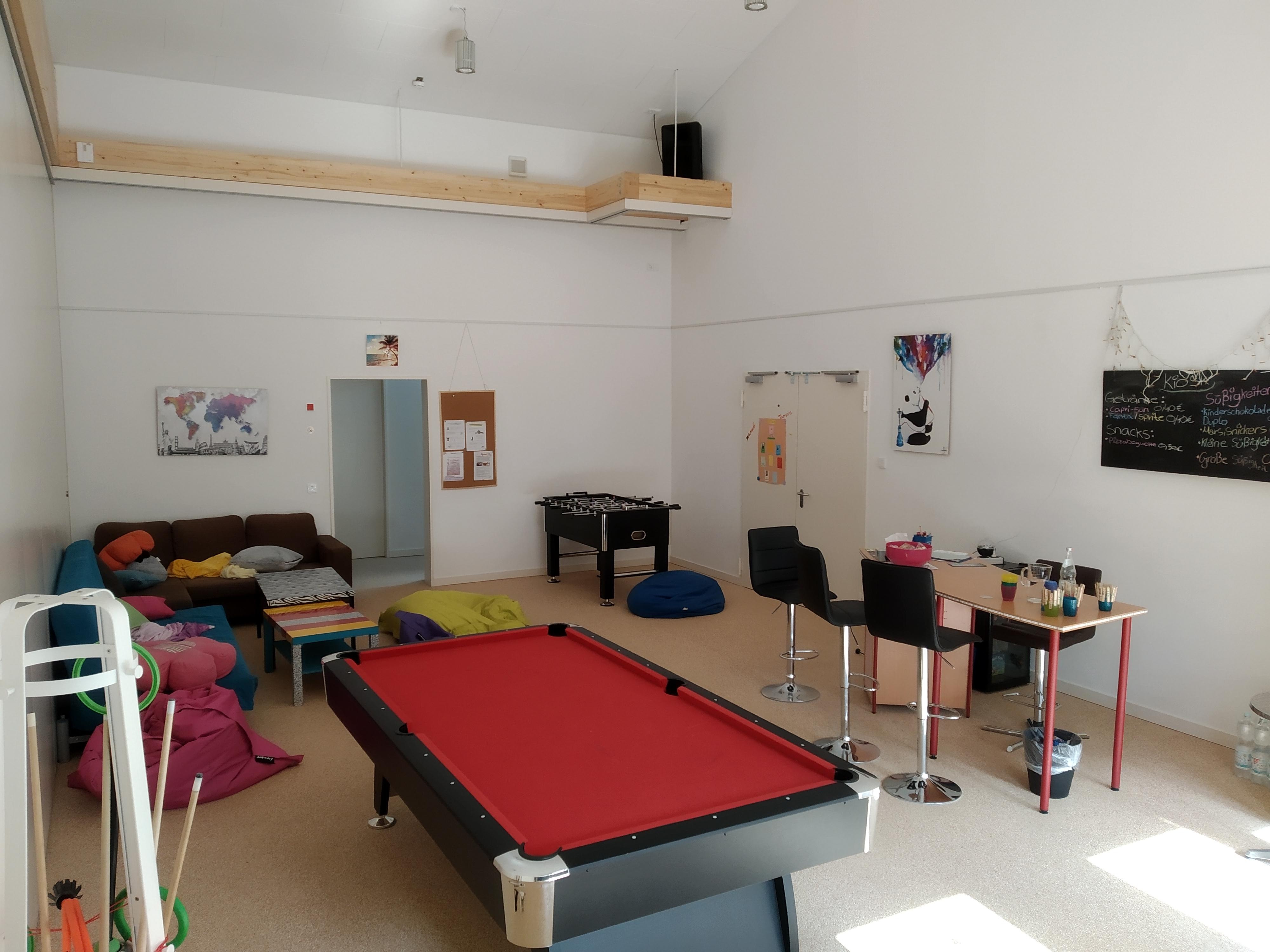 Unser Hauptraum